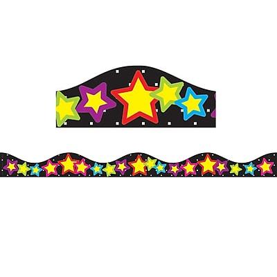 Ashley Kindergarten - 12th Grade Magnetic Border, Stars, 12/Pack