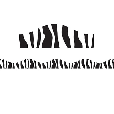 Ashley Magnetic Border, Zebra, 5/Pack