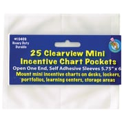 "Ashley® Clear Self-Adhesive Mini Incentive Pocket, 5-3/4""(H) x 6""(W) (ASH10406)"