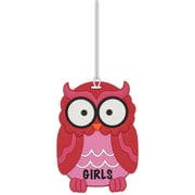 Ashley Owl 3D Puffy Girls Pass, Bundle of 3 (ASH10601)