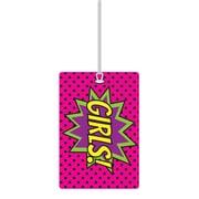 Ashley Puffy Superhero 3D Puffy Girl Pass, Bundle of 3 (ASH10617)