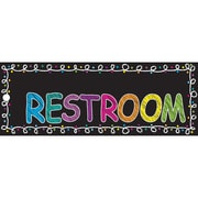 Ashley Laminated Chalk Restroom Pass, Bundle of 3 (ASH10660)