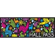 "Ashley Productions® Laminated Hall Pass, 9"" x 3.5"", Llamas and Cactuses, Bundle of 6 (ASH10688)"