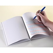 """Ashley® Hardcover Primary Lined and Blank Journal, White, 8""""(H) x 6""""(W), 10 EA/BD"""