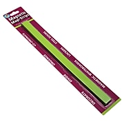 """Ashley 3/4"""" x 12"""" Magnetic Magi-Strips, Lime Green, 12/Pack"""