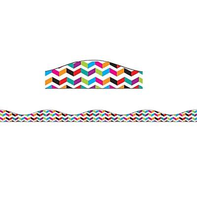 Ashley Productions Big Magnetic Border, Multi Chevron (26 x 2.5)
