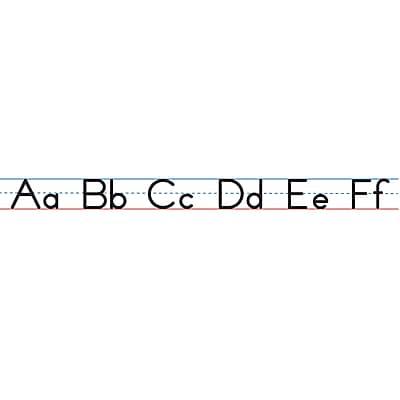 Ashley Productions Magnetic Manuscript Alphabet Lines, Large 24