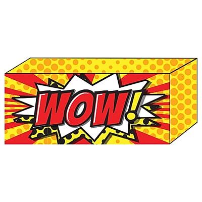"Ashley Super Hero Strong Block Magnet, 1"" x 2"" x 0.5"", bundle of 6 (ASH17801)"