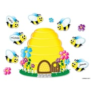 Ashley Productions® Magnetic Bee Hive and Bees Mini Bulletin Board Set, Write On Wipe Off, Pack of 24 pcs (ASH77024)