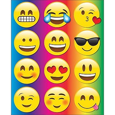 Ashley Emojis Die Cut Magnets 12/set, 8.25