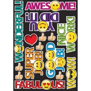 "Ashley Emoji Rewards Die Cut Magnets, 8.25"" x 11.75"", Assorted Colors (ASH77801)"