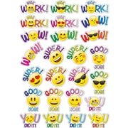 "Ashley Emoji Student Reword Die Cut Magnet, 11.75"" x 8.25"" Assorted Colors (ASH77806)"