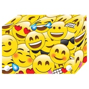 Emojis Index Cards Boxes 3x5in Decorated Poly, 6/set (ASH90303)