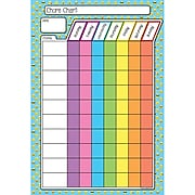 "Ashley® 13"" x 19"" Smart Poly Emoji Chore Chart (ASH91015)"
