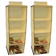 Cathay Importers 4 Shelf Hanging Organizer
