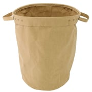 Cathay Importers Eco-Friendly Paper Round Storage Basket, Brown, Small (EC-21-0055)