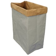 Cathay Importers Eco-Friendly 2-Tone Paper Rectangle Storage Basket, Extra Large (EC-21-0061)