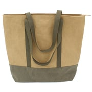 Cathay Importers Eco-Friendly Paper Tote Bag, Brown, Large (EC-21-0067)