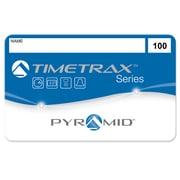 Pyramid Time Systems® TimeTrax™ Swipe Cards 41304 for TTEZ, TTEZEK, PSDLAUBKK Time Clocks #51-100, 50/Pack
