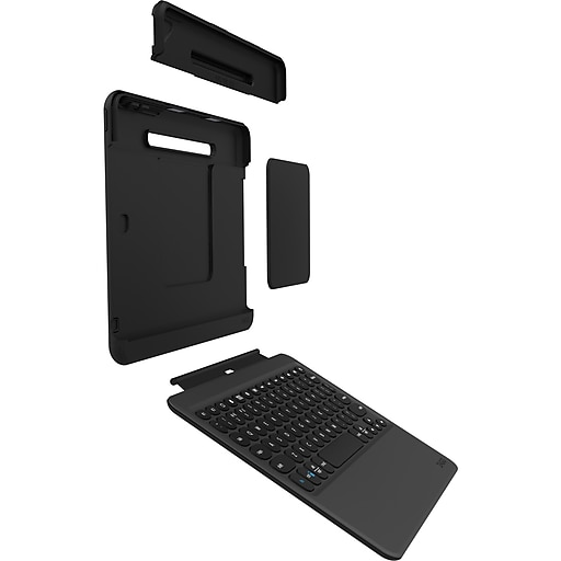 Zagg® Nomad Keyboard/Cover Case (Book Fold) for 10 5