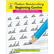 "Carson Dellosa® ""Modern Handwriting: Beginning Cursive"" Grade 1st-3rd Resource Book, Language Arts"