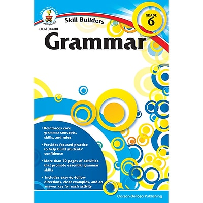 Carson-Dellosa Skill Builders, Grammar Grade 6