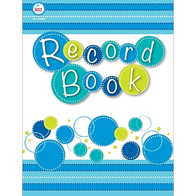 Carson-Dellosa Bubbly Blues Record Book (CD-104789)
