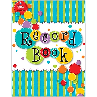 Carson-Dellosa Fresh Sorbet Record Book (CD-104793)