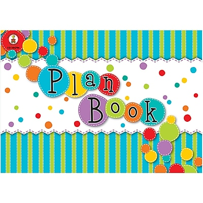 Carson-Dellosa Fresh Sorbet Plan Book (CD-104794)