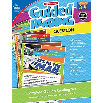 Carson-Dellosa Guided Reading: Question, Grades 3-4 (CD-104930)