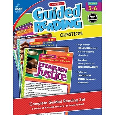 Carson-Dellosa Guided Reading: Question, Grades 5-6 (CD-104931)