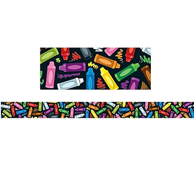 Carson-Dellosa Crayons Straight Border (36 x 3)