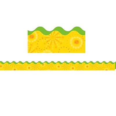 Carson-Dellosa Lemon Lime Scalloped Border (36 x 2.25)