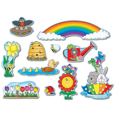 Carson-Dellosa Mini Bulletin Board Sets, Spring