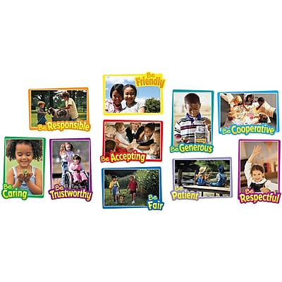 First-Rate Character Traits Bulletin Board Set, 10 pieces