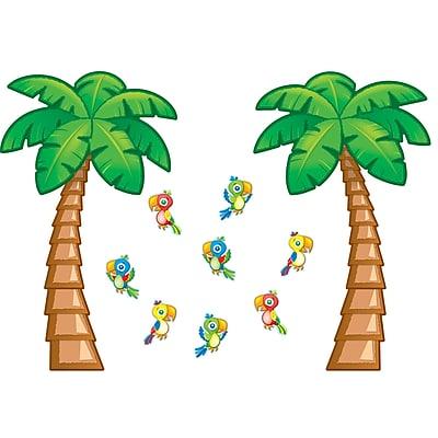 Carson-Dellosa Bulletin Board Set, Tropical Trees