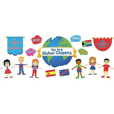 Carson-Dellosa We Are Global Citizens, Bulletin Board Set (CD-110346)
