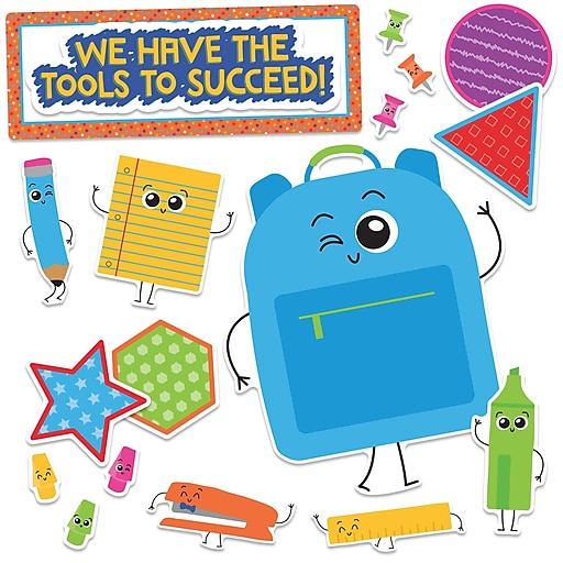 Carson-Dellosa We Have the Tools to Succeed!, Bulletin Board Set (CD-110355)