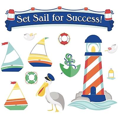 Carson-Dellosa Set Sail for Success!, Bulletin Board Set (CD-110357)