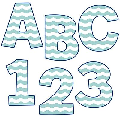 Carson-Dellosa S.S. Discover 4in EZ Letters, 76/Pack (CD-130078)