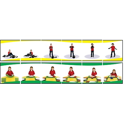 Carson-Dellosa Learning To Sequence 6-Scene Board Game