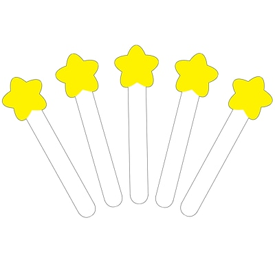 Carson-Dellosa Write-On/Wipe-Off Sticks, Star