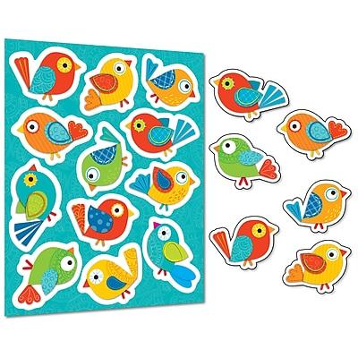 Boho Birds Shape Stickers, Pack of 96 (CD-168120)