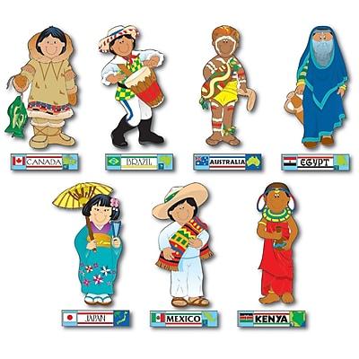 International Kids Bulletin Board Set