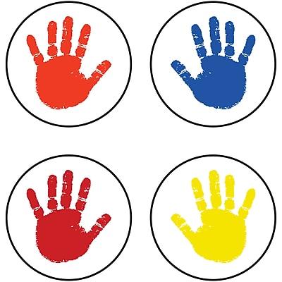 Handprints Chart Seals