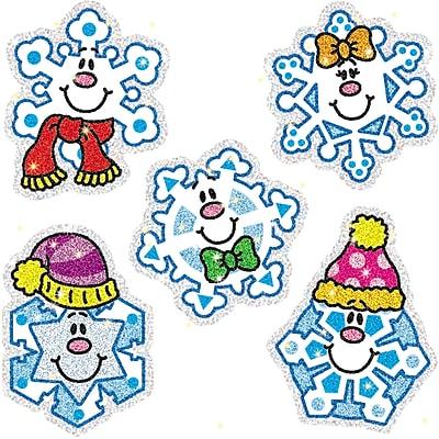 Carson-Dellosa Dazzle™ Stickers, Snowflakes