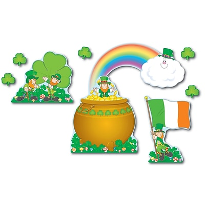 St. Patrick's Day Bulletin Board Set