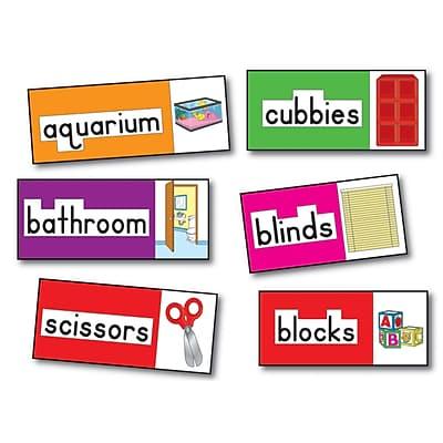 Print-Rich Classroom Labels, English