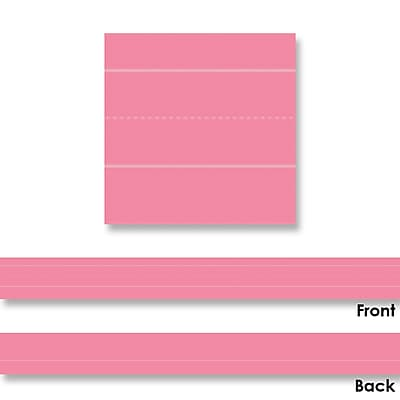Sentence Strips, Lined Multicolored