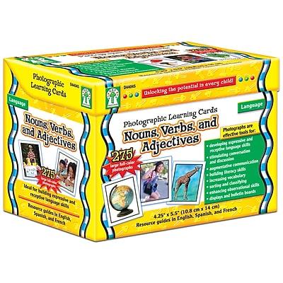 Key Education Photographic Language Development Cards, Nouns, Verbs & Adjectives, 624/Set (CD-D44045)